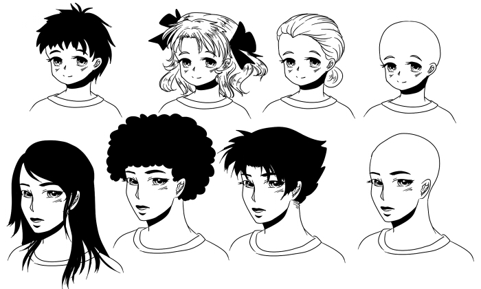 same_face_different_hairstyles_by_mathildasdoubel-d6gac2y