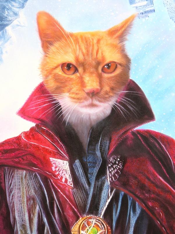 Dr-Strange-Cat-Painting