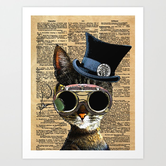 clockwork-kitty-steampunk-cat-prints