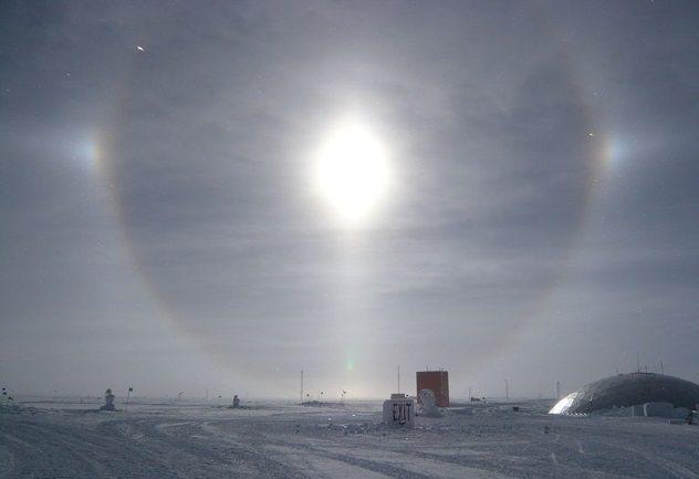 South-Pole-Sun