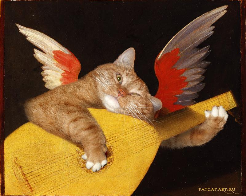 rosso_fiorentino_musical-angel_cat-w
