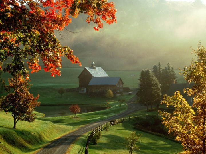 Beautiful Autumn Scenery Wallpapers 10